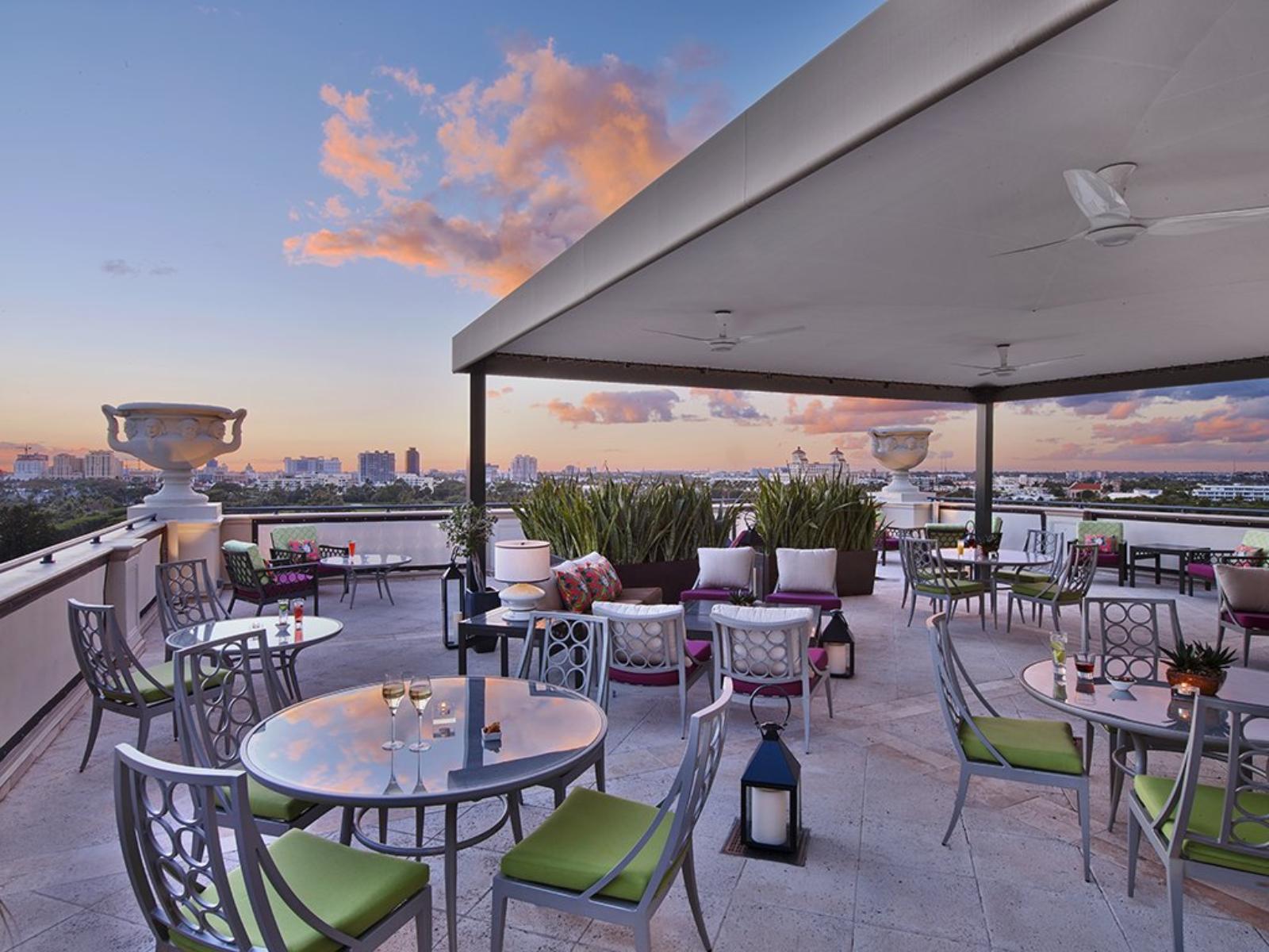 Rooftop Deck with Vistas