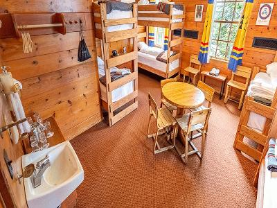 Rustic Style Guest Room Suite
