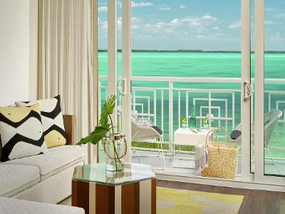 Private Suite Beachfront Balcony